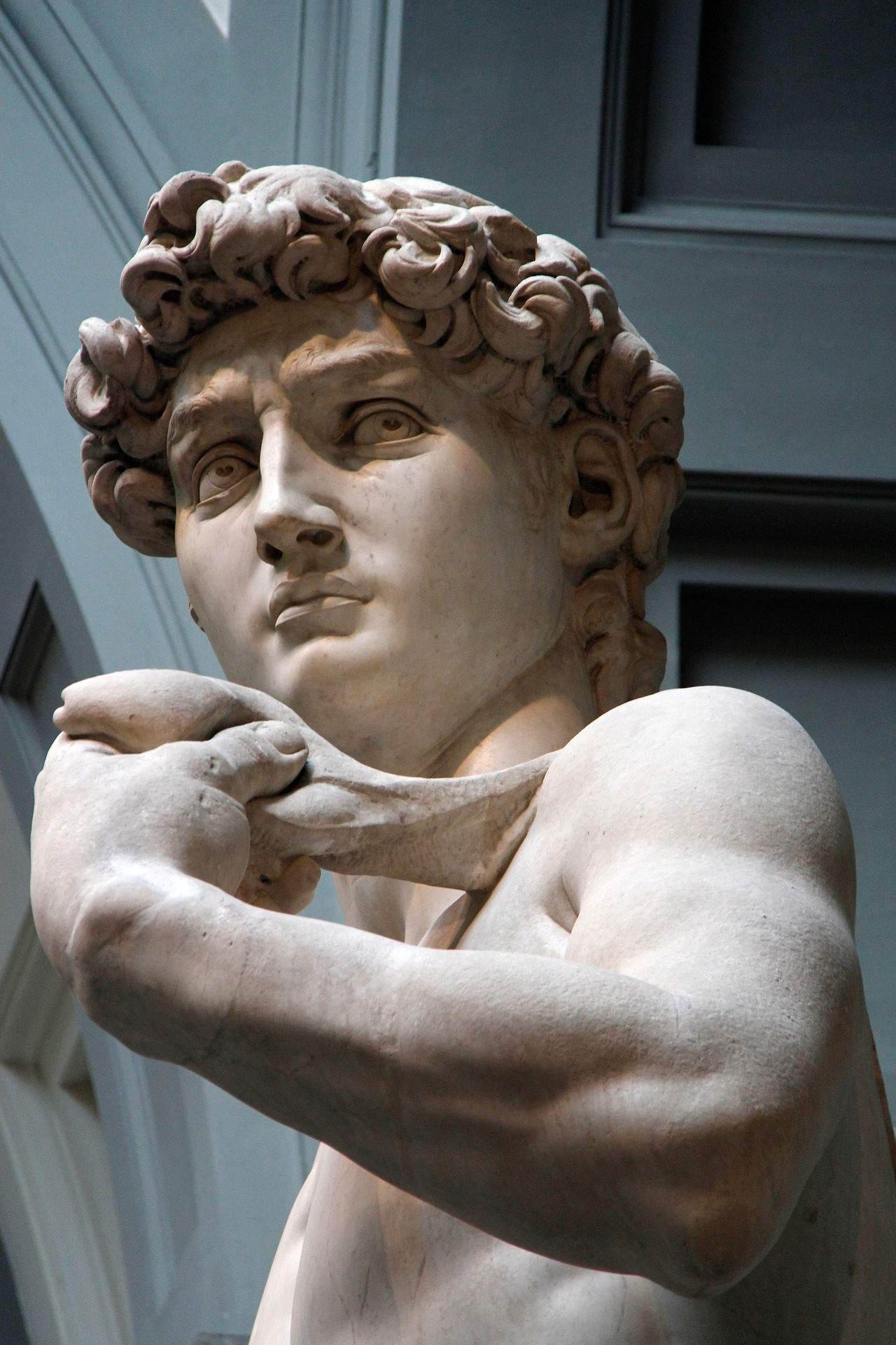 Sculpture David Italy Marble Florence Michelangelo