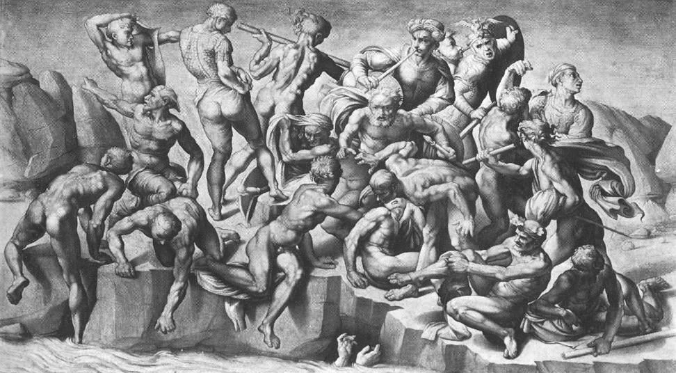 Michelangelo Buonarroti Battle Of Cascina (part) Wga15507