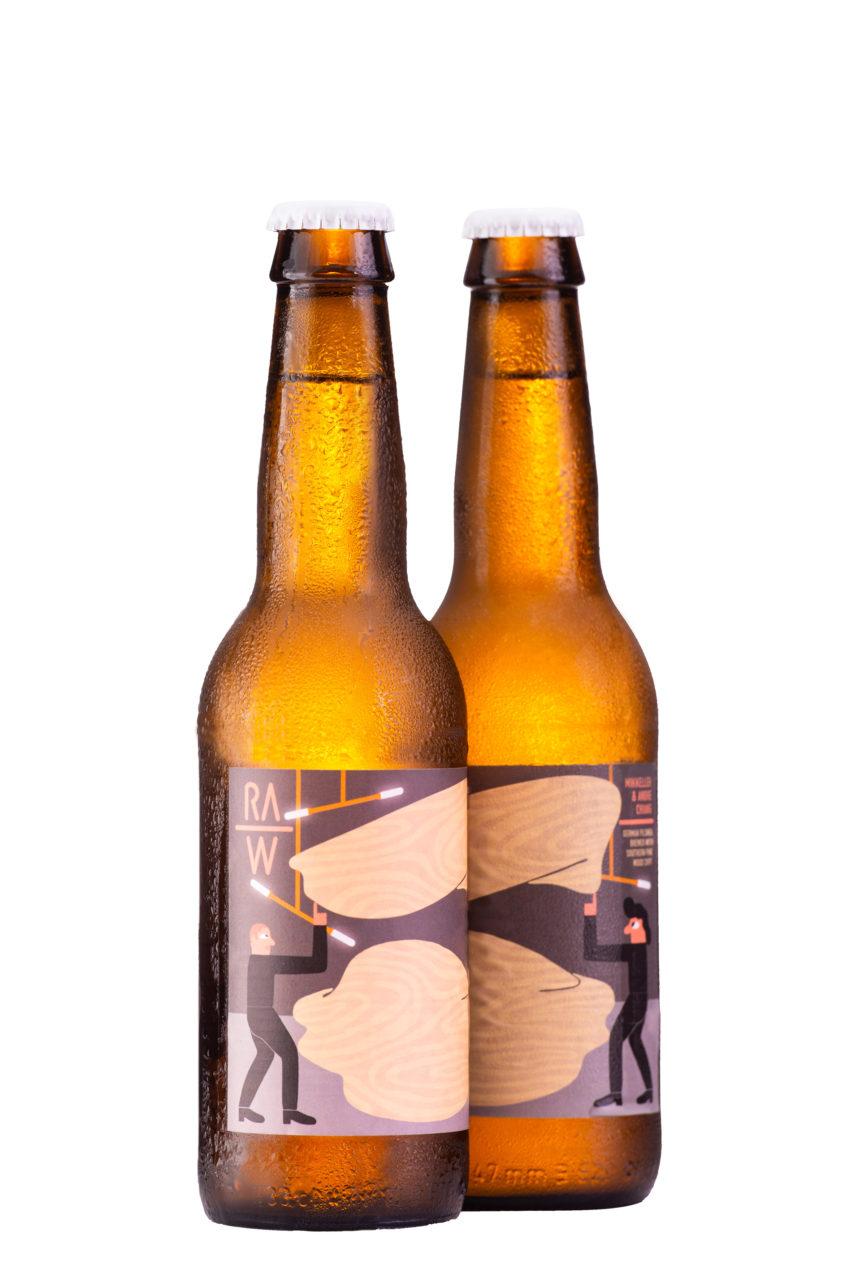 Mikkeller松木raw啤酒 2