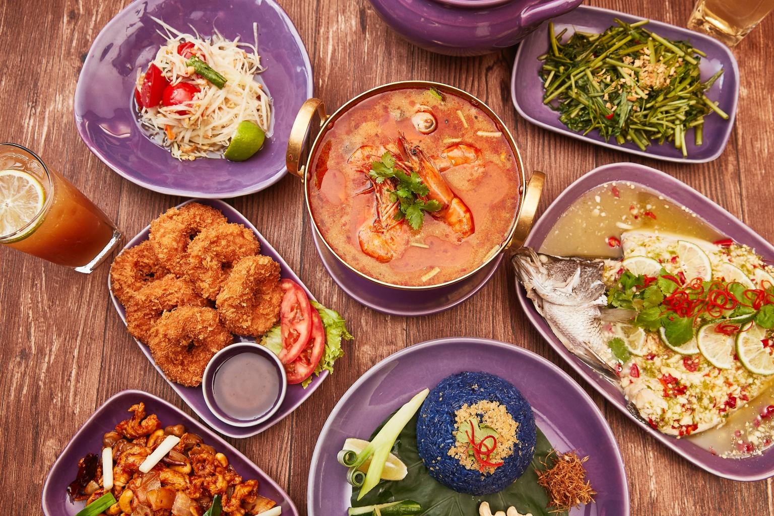 Nara Thai Cuisine紅到發紫進駐統一時代百貨台北店
