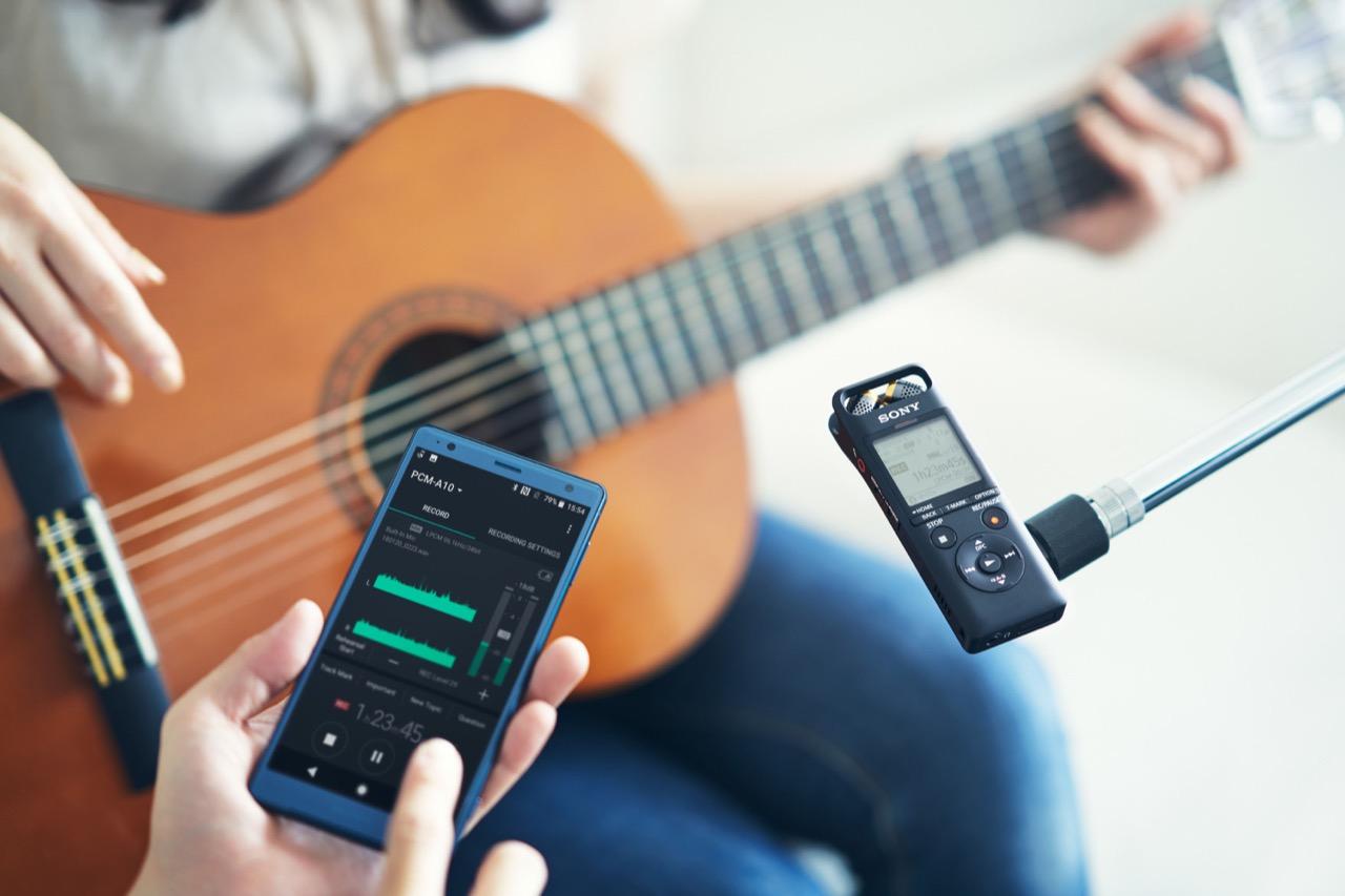 Sony Pcm A10 為音樂工作者捕捉精彩創作及演出,提供更進階實用的錄音選擇!