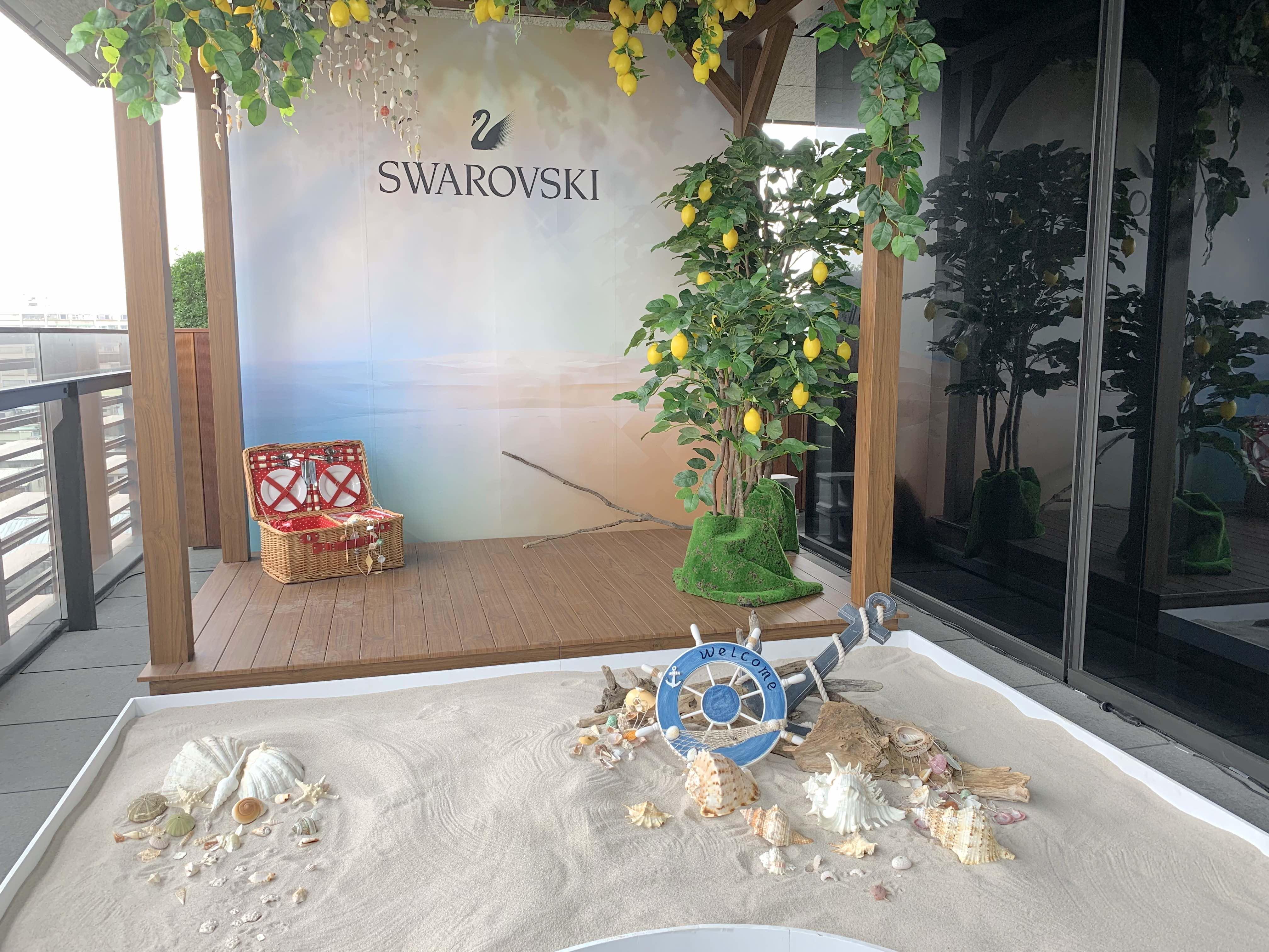 Swarovski2019春夏「sunshine Collection」系列以地中海的旅程為靈感,