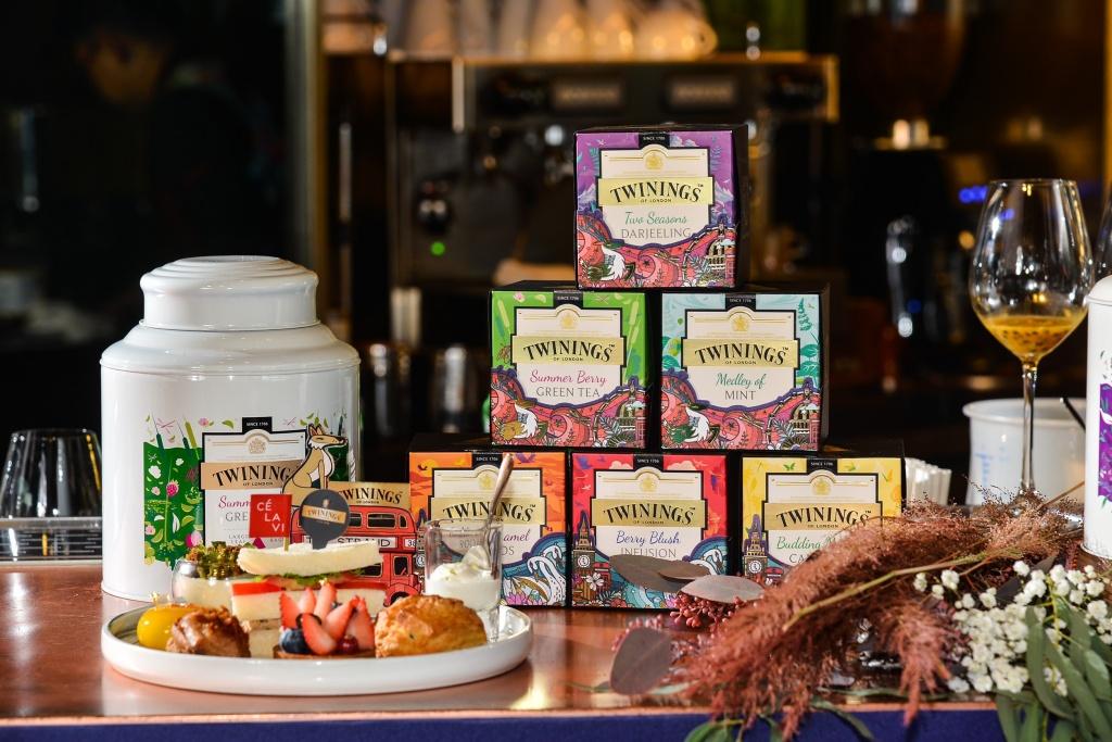 Twinings X CÉ La Vi Taipei「倫敦。風旅 」聯名午茶與節慶包裝