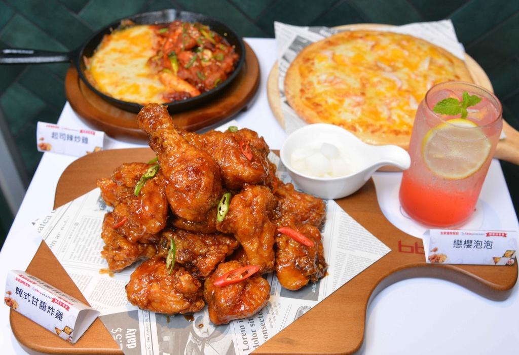 Bb.q Chicken推出三款韓系浮誇系無酒精餐飲搭配