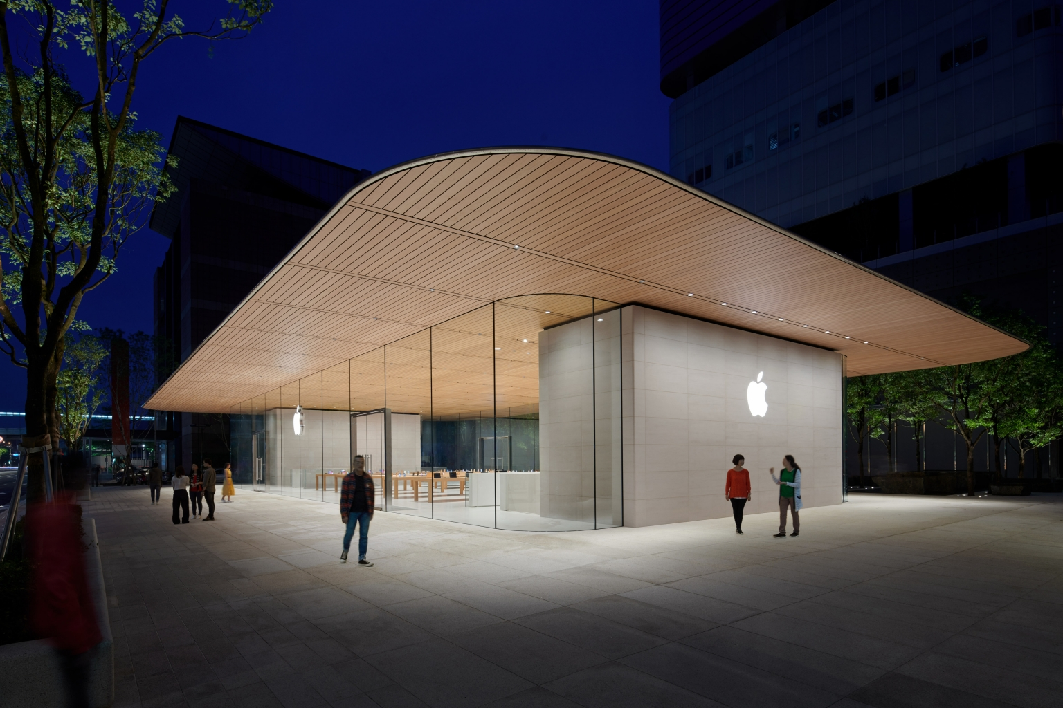 New Apple Store Taipei